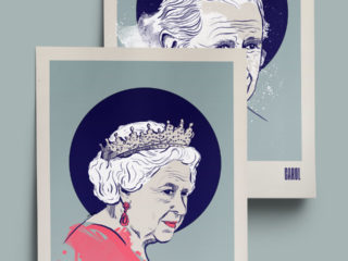 Queen Elizabeth II and Prince Carol